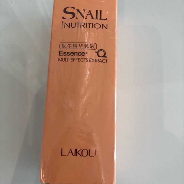 Snail essence emulsion