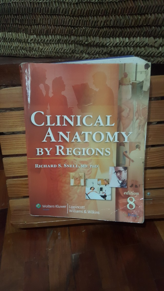 Snell Clinical Anatomy by Regions, Textbooks on Carousell