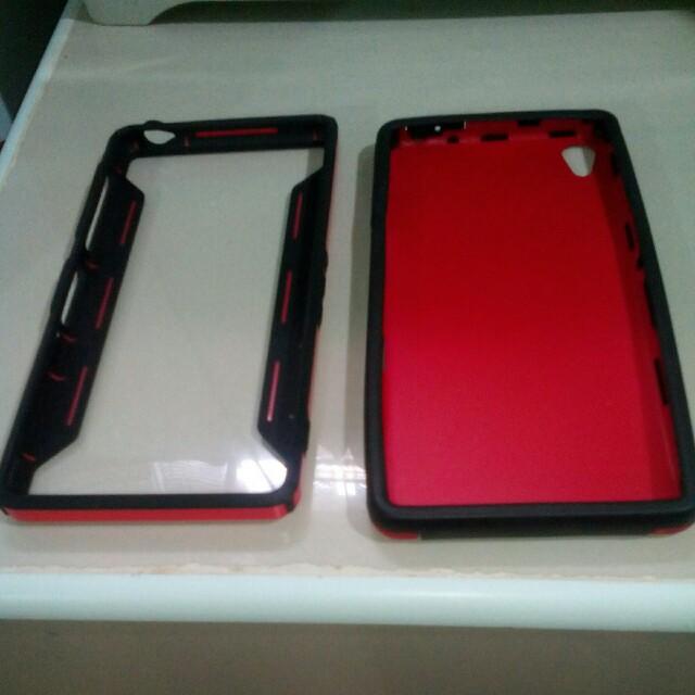 Sony Experia Z3 Case + Bumper