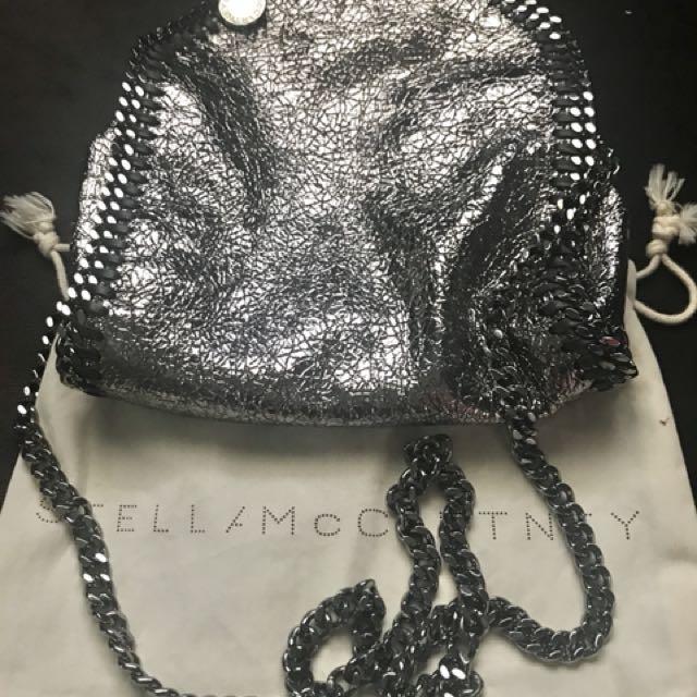 Stella McCartney silver Falabella Mini Tote, Women s Fashion, Bags   Wallets  on Carousell 1bd460c0b1