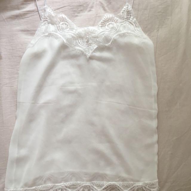 Summer lace singlet