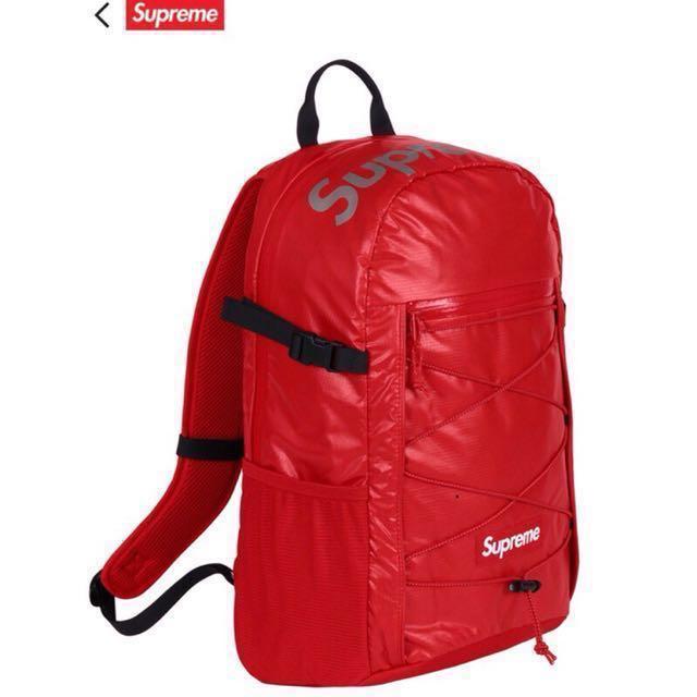 Supreme43th supreme後背包 supreme包 supreme紅 supreme 43