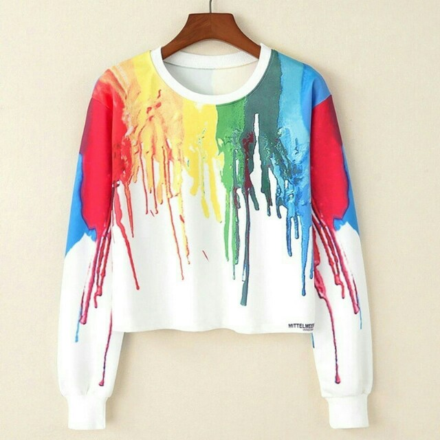 SWEATER INK COLOUR / SWEATER / SWETER / JACKET / JAKET / ATASAN / BAJU