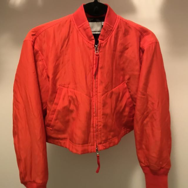 T by Alexander Wang cropped jacket - reduced