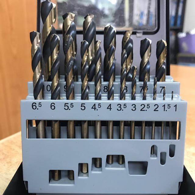 TENN thunder drill bits for steel