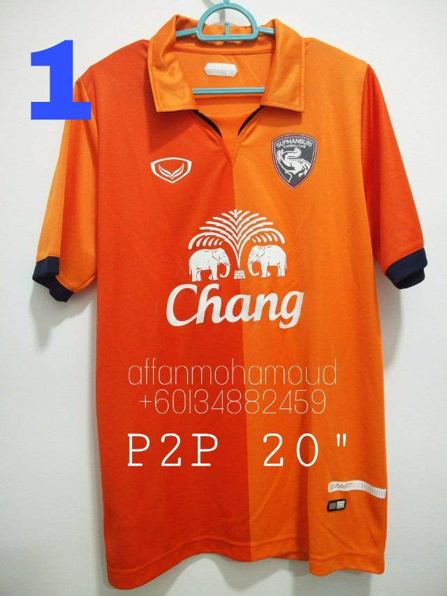 2db844fd656 Thailand Clubs Jersey (All Grand Sport, original)(ULN), Sports, Athletic &  Sports Clothing on Carousell