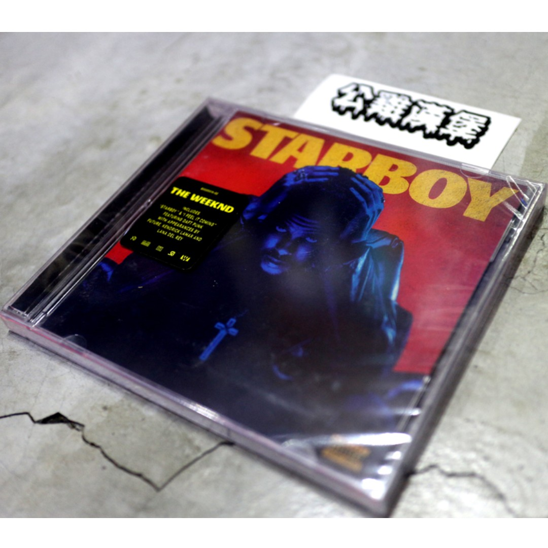 「The Weeknd Starboy 威肯 CD 二手 專輯 @公雞漢堡」