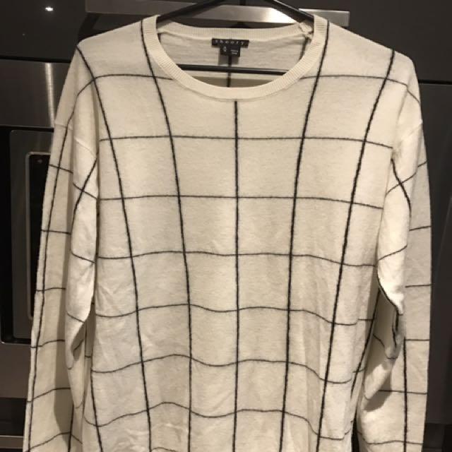 Theory Sweater 100% Merino Wool