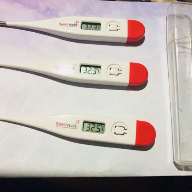 thermometer 40 pesos each