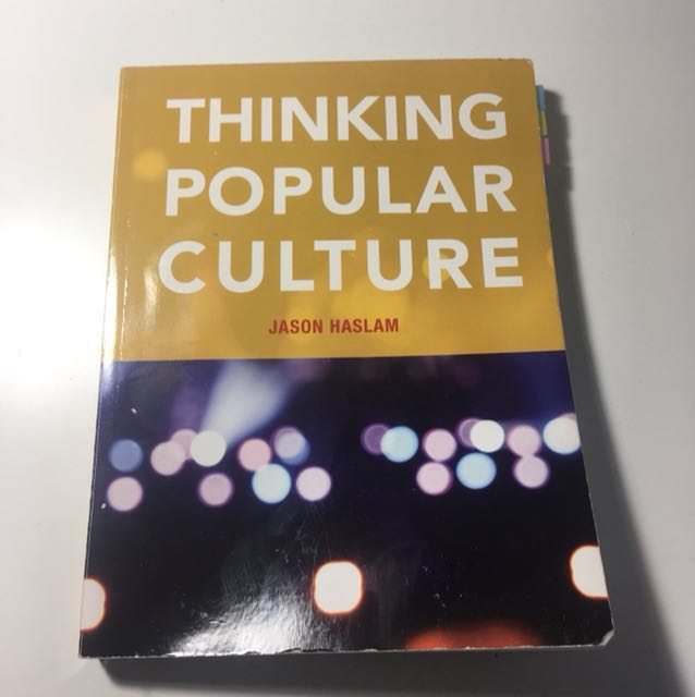 Thinking popular culture textbook