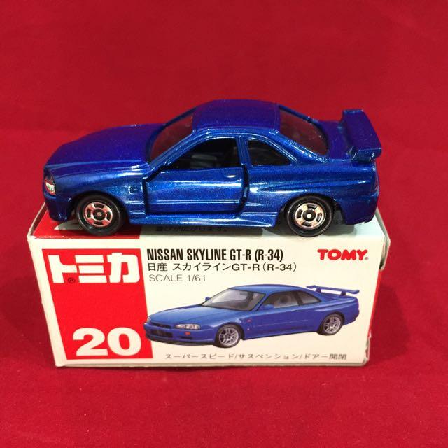 Tomica Nissan Skyline GT-R (R34), Toys & Games, Bricks