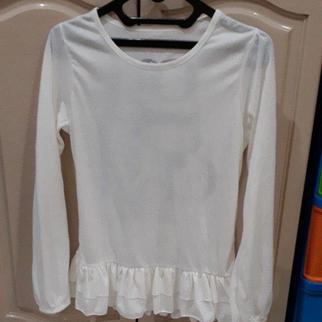 Top white long