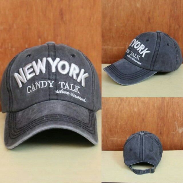 Topi Import New York Candy Black