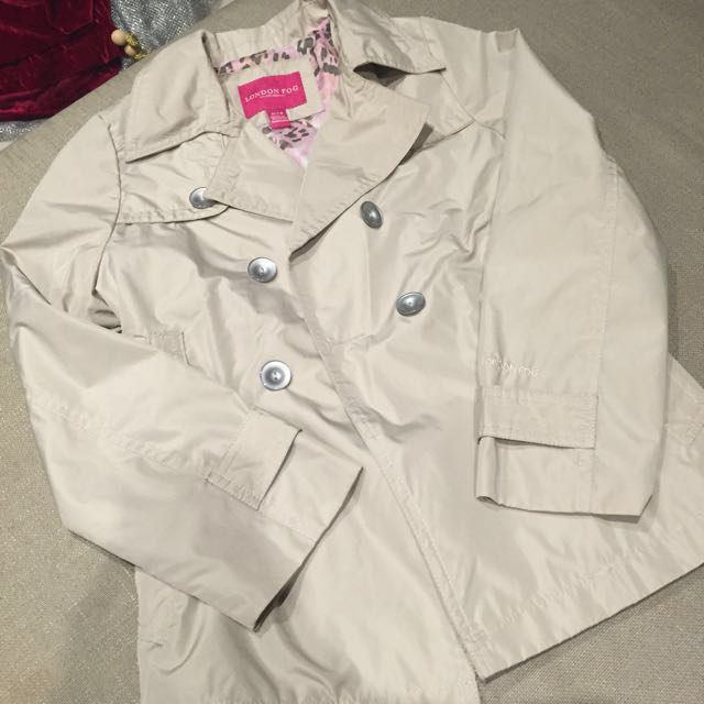 Trench Coat Size 7-8