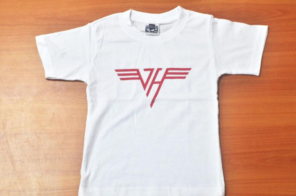 2aebae18e Tshirt Van Halen for kids, Babies & Kids, Babies Apparel on Carousell