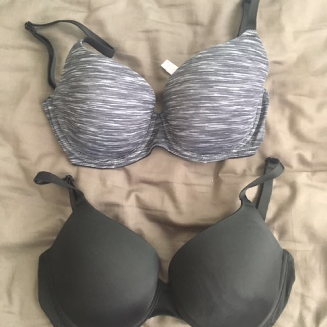 VS PINK bras (Size 32DD and 34DD)