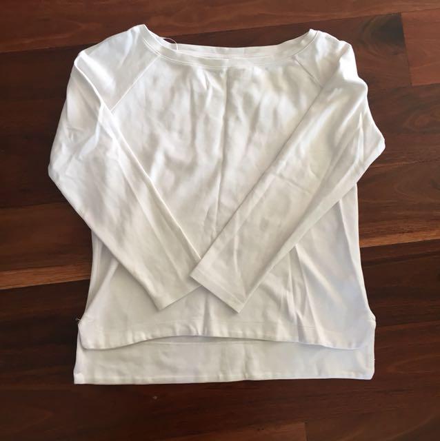 White Stylish Sweatshirt