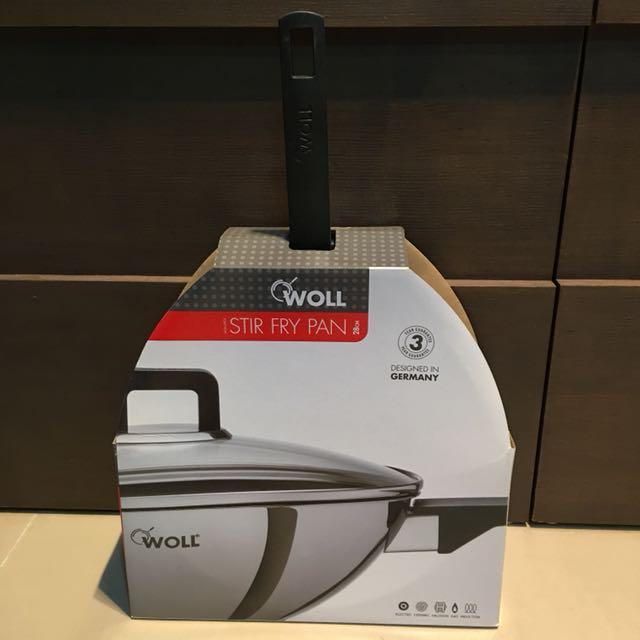 德國Woll鍋具 28cm不沾炒鍋