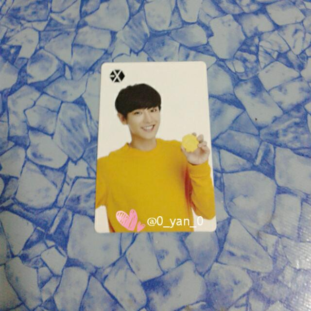 [WTS Only] EXO Chanyeol Sum Cafe Photocard
