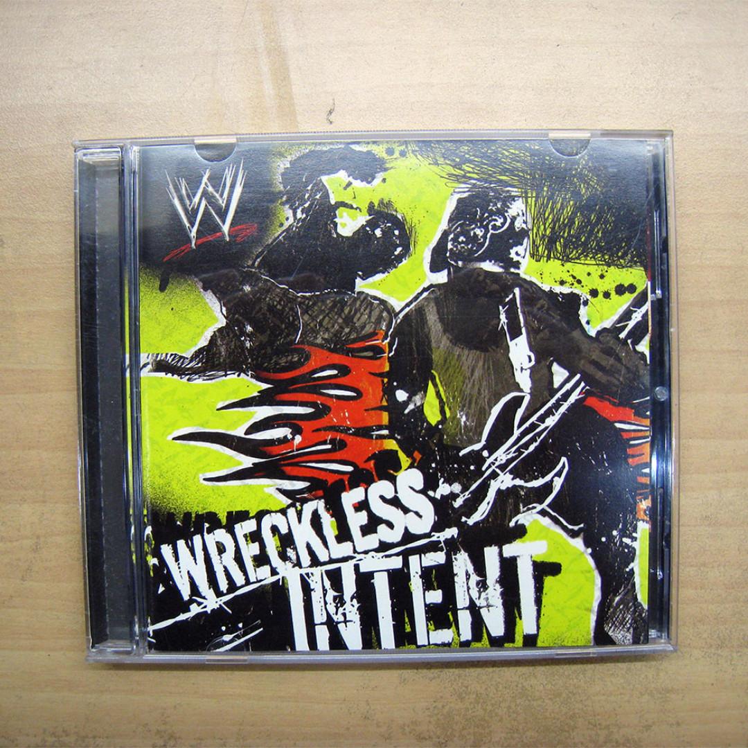 WWE Wreckless Intent Original CD