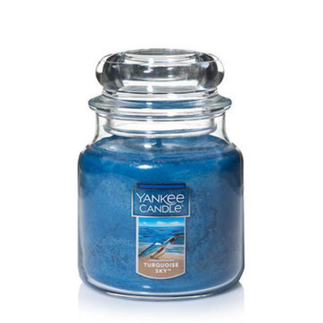 Yankee Candle turquoise sky香氛蠟燭