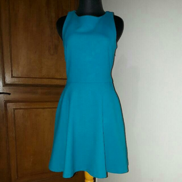 Zara dress blue