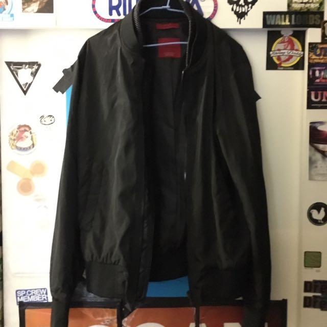 Zara Ma1暗黑外套
