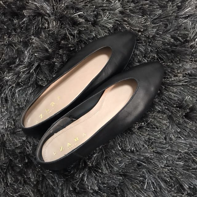 Zara V-Cut Ballerina Shoes