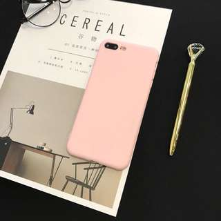 Color frosted case for Iphone 6/6s, 6+/6S+, 7/8,7+/8+