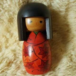 🚚 日本 山岸政 農林水產大臣賞全手工木製和服裝娃娃