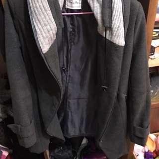 🚚 假兩件外套