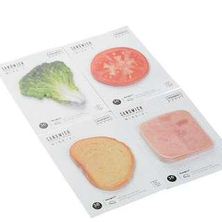 [PO] Sandwich Memo Pad