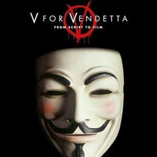 TOPENG MASK VENDETTA ANONYMOUS