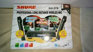 Shure professional long distance wireless microphone