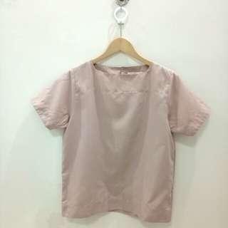 Nude pink top