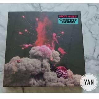 [Ready Stock] NCT #127 - Cherry Bomb