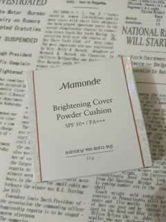 Mamonde Brightening Cover Powder Cushion 23C (Natural)
