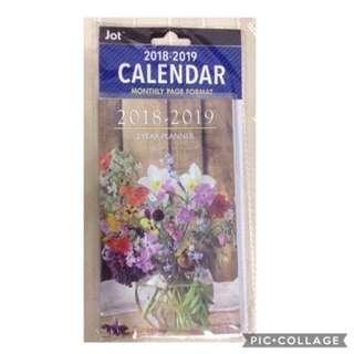 [PRICE REDUCED] JOT 2018 - 2019 Calendar