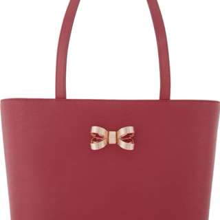 TED BAKER Bowdai looped bow small tote