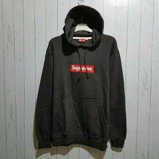Sweater / jaket supreme logo box merah premium