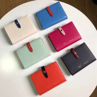 Celine strap wallet medium