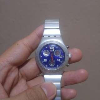 Brand New Swatch Irony Aluminum