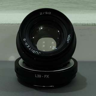 WTS > Used Jupiter-8 50mm F2 L39 Mount (Made in USSR)