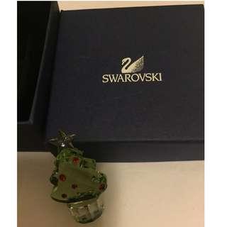 Discount Authentic Swarovski真品施華洛世奇首飾 水晶聖誕樹擺設Xmas tree