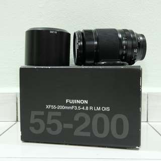 WTS > Used Fujifilm XF 55-200mm F3.5-4.8 R LM OIS (Like NEW)
