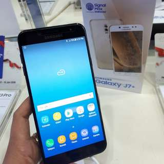 Samsung J7+ Bisa Cicilan Free Sandisk 32GB