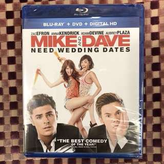 Mike and Dave Need Wedding Dates (Blu-ray + DVD)