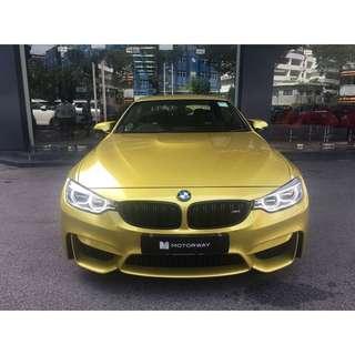 BMW M4 Convertible 3.0 Auto