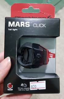 MARS Click bicycle tail light