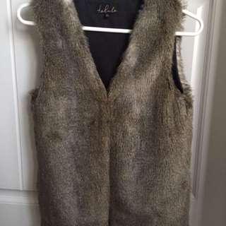 Aritzia Fur Vest
